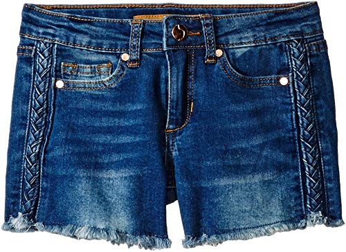 Joe's Jean Girls' Big Stretch Jean Denim Short, Markie Scuba Blue, 12