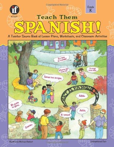 Teach Them Spanish!, Grade K