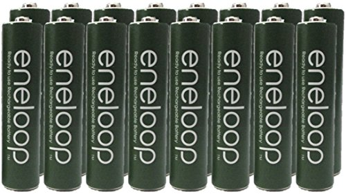 Panasonic Eneloop AAA Nimh Pre-charged Rechargeable Batteries with Battery Holder - Rechargeable 2100 Times