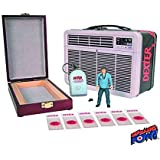 Dexter SDCC 2013 San Diego Comic-Con Exclusive 3 3/4 Inch Action Figure, Tin Tote & Blood Slide Box