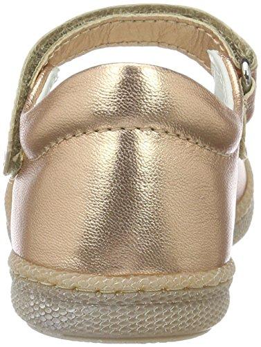 Primigi Mädchen PTF 7186 Mary Jane Halbschuhe Gold (RAME)