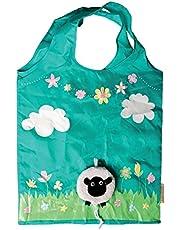Sass & Belle Eco Friendly Reusable Foldable Shopping Bag (Design: Sheep)