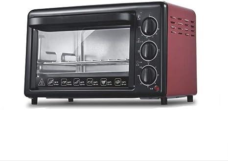 Opinión sobre BTSSA Horno Convección de Sobremesa, 6 Modos, Piedra Especial para cocinar Pizza, 1000 W, Temperatura hasta 230ºC y Tiempo hasta 60 Minutos, 20 litros