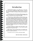 Gibson H Tractor Hercules Engine Service Manual