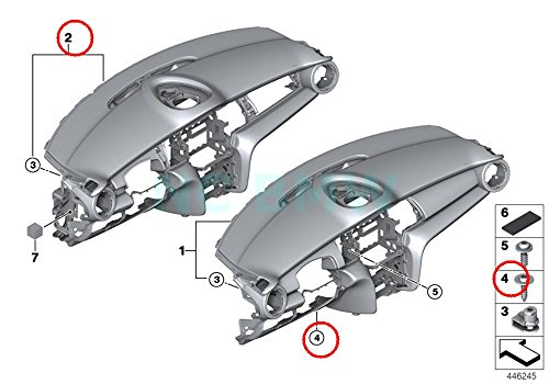 BMW Genuine Oval-Head Screw With - Outlet Francisco San Centre