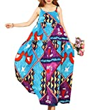 YESNO-Women-Casual-Long-Maxi-Dress-Boho-Summer-Beach-Slip-Dresses-Geometric-Print-Large-Loose-Swing-E75