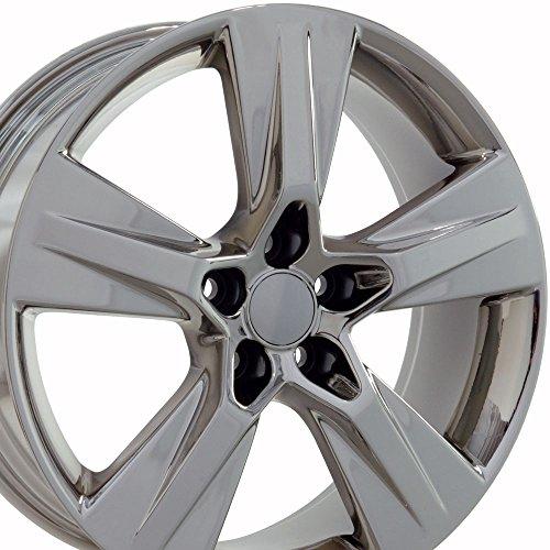 OE Wheels 19 Inch Fits Lexus ES GS HS IS LS RX SC Toyota Avalon Camry Matrix Prius V Rav4 Sienna Highlander Style TY14 Chrome 19x7.5 Rim Hollander ()