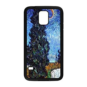 KSDHPNECASE Fashionable Diy Case Of Van Gogh Customized Case For SamSung Galaxy S5 i9600