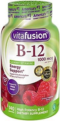 Vitafusion Vitamin B-12 1000 mcg Supplement (Packaging May Vary)