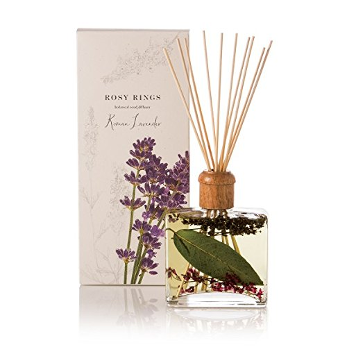 Rosy Rings Botanical Reed Diffuser, Roman Lavender by Rosy Rings