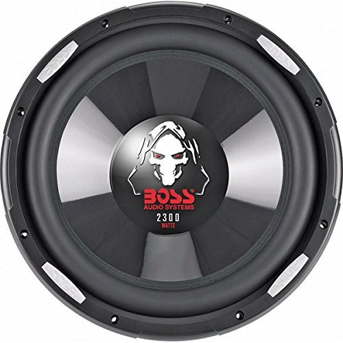 Boss Phantom 12in Dvc Sub 2300w Poly Inject Cone Dual 4-Ohm
