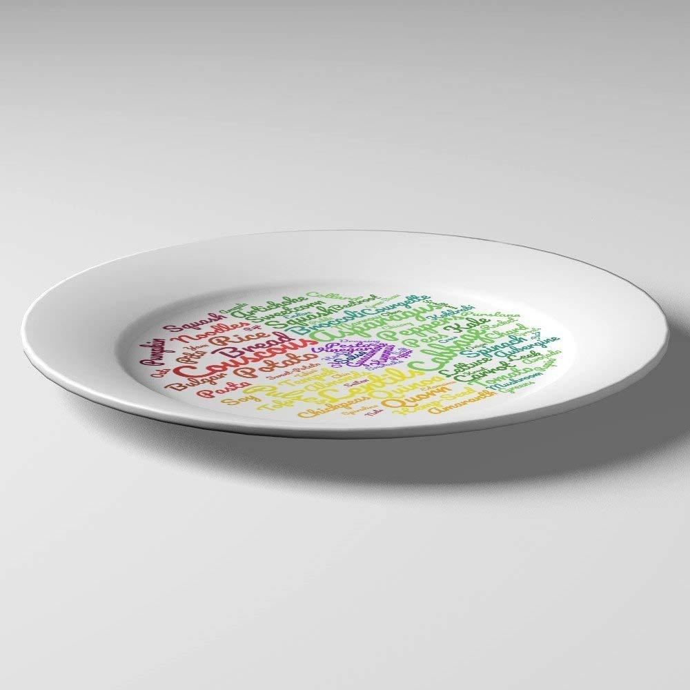 Les id/ées Alimentaires et contr/ôle des portions pour Une Perte de Poids Durable Magnifiquement con/çues pour Suivre Un r/égime v/ég/étalien ou v/ég/étarien j/&m Assiette Saine V/ég/étalienne