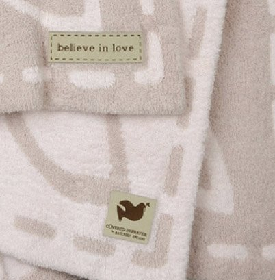Barefoot Dreams Covered in Prayer Throw - Believe in Love