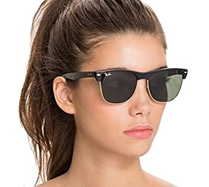 b2427a32ee Amazon.com  Ray-Ban Unisex Clubmaster Oversized RB4175 Sunglasses (57 mm
