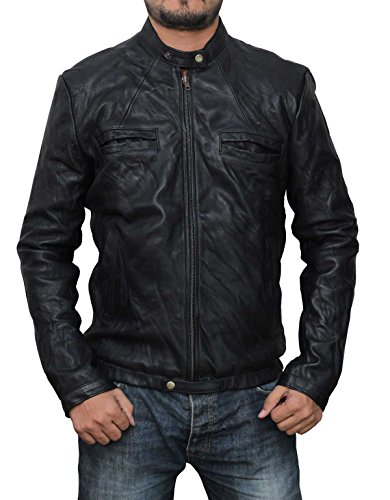 Decrum Zac Efron 17 Again Leather Jacket M -