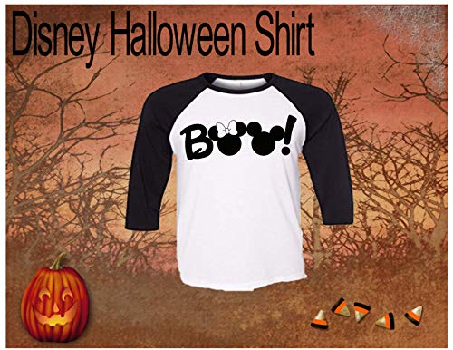 Handmade Disney Halloween Shirt ~ 2019 ~ Boo ~ Mickey's Not So Scary Halloween Party