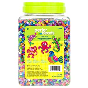 Perler 17000 Beads 22,000 Count Bead Jar Multi-Mix Colors