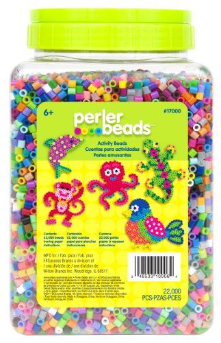Perler 17000 Beads Multi Mix Colors