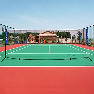Sport Net for Outdoor Backyard or Beach Tennis Volleyball Badminton – 10'x5'