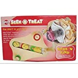 Ethical 5786 Seek-A-Treat Slide N Find Dispensing Puzzle, My Pet Supplies