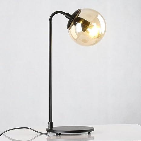cristal simplicidad lámpara esfera de mesaAmericano nórdica vbf6yY7g