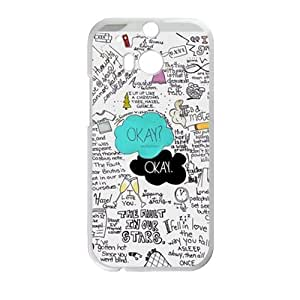 Personal Customization Okay Hot Seller Stylish Hard Case For HTC One M8