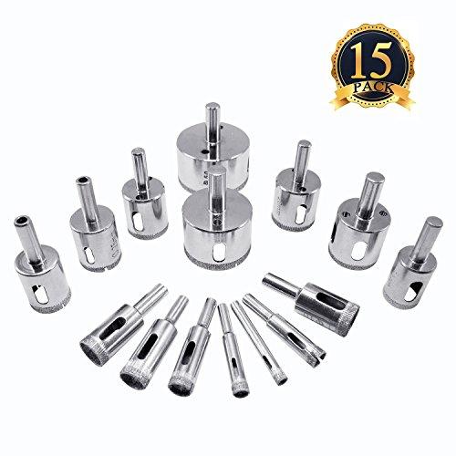1 16 glass drill bits - 8