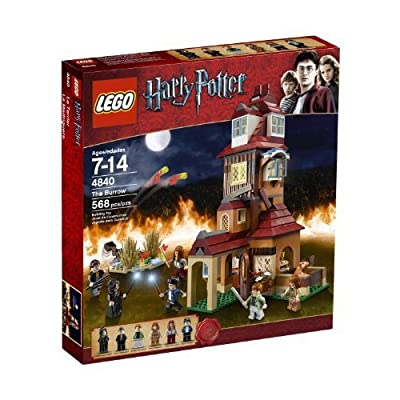 LEGO Harry Potter The Burrows 4840: Toys & Games