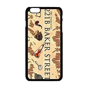 221B Baker Street Cell Phone Case for Iphone 6 Plus