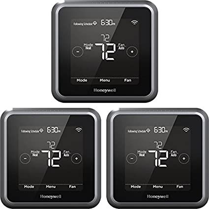 Honeywell Lyric T5 Wi-Fi Smart Thermostat Multi-Pack (Grey/Black)