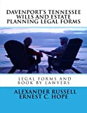 Davenport's Tennessee Wills And Estate Planning Legal Forms