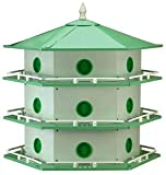 Heath 18 Room Aluminum Purple Martin House (Model AH-18D)