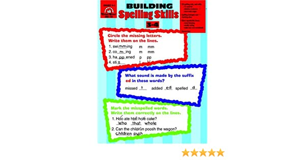 Workbook contraction worksheets for grade 3 : Building Spelling Skills: Grades 3-4: Moore: 0023472007261: Amazon ...