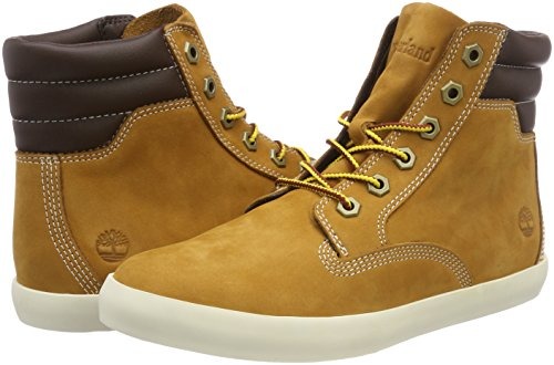 Femme Timberland Jaune wheat Botines Nubuck Boot Dausette Sneaker rqyHC17Bq