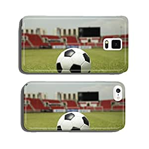 Soccer ball on the field cell phone cover case iPhone6