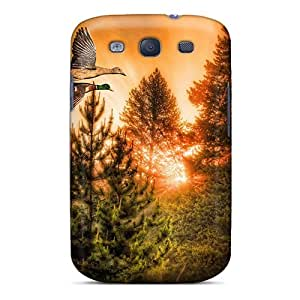New Flying Ducks Tpu Case Cover, Anti-scratch SandraTrinidad Phone Case For Galaxy S3