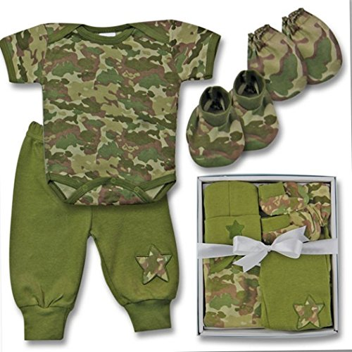 Baby 5-Piece Camo Outfit Gift Set