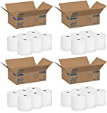 Scott High Capacity Hard Roll Paper Towels (01005), White, 4 Cases (6 Rolls)
