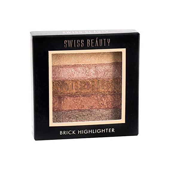 Swiss Beauty Brick Highlighter, 7g