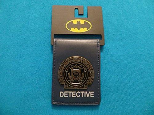 dc comics batman metal badge folder bi fold wallet buy online in