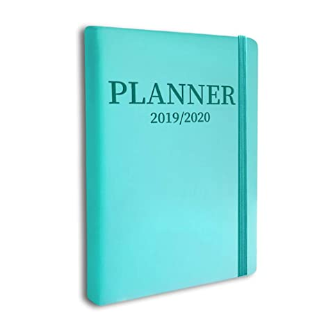 Planner 2019-2020 Teacher Academic Monthly Daily Agenda School Day Designer Academic Note Book Student Bloom Homeschool Weekly and College Lily yearly ...