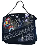 Nightmare Before Christmas Skull Punk Sally Goth Messenger Bag Tote