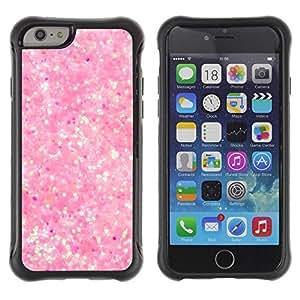 Suave TPU GEL Carcasa Funda Silicona Blando Estuche Caso de protección (para) Apple Iphone 6 PLUS 5.5 / CECELL Phone case / / Pink Snow Bright Reflective Diamond /