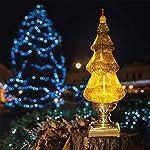 DDXJ Musical Swirling Glitter Christmas Tree
