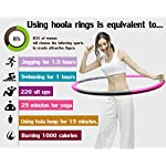 NATARIFITNESS..COM  51E44myTTqL._SS150_ Auoxer Fitness Exercise Weighted Hoops, Lose Weight Fast by Fun Way to Workout, Fat Burning Healthy Model Sports Life…