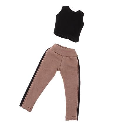 Skirt Jeans Jacket for 1//6 BJD DOD Dollfie 12inch Blythe Pullip Doll Outfit