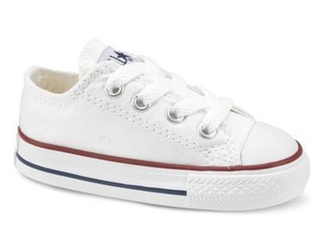Converse Unisex-Baby Kids Ox All Star White Sneaker - 2