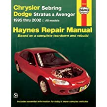 Haynes Chrysler Sebring Dodge Stratus & Avenger 1995-2002 (Haynes Manuals)