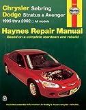 Haynes Chrysler Sebring Dodge Stratus and Avenger 1995-2002, John A. Wegmann and John Harold Haynes, 1563924617