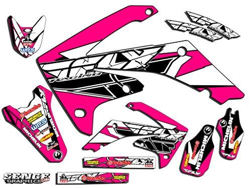 Senge Graphics 2007-2017 Honda CRF 150R Fly Racing Pink Graphics kit